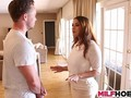 hot stepmom likes stepdaughters boyfriend too clip