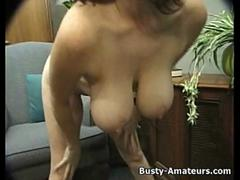 busty amateur kathryn playing her tits and pussy clip