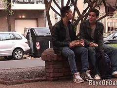 two boys hook up for gay one-on-one clip