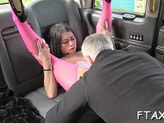 filthy bitch spreads legs in fake taxi movie movie 1
