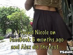 Nicole Bahls Very First Appearance