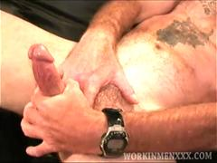 Mature Amateur Troy Jacks Off