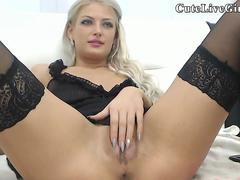 Huge Tits Awesome Solo Girl Masturbating Ep1
