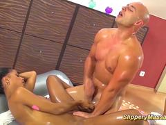 big cock nuru massage with Isabella Chrystin