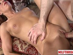 Hot mom sex and cumshot