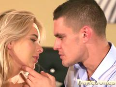 Dane Jones Creampie for cute couple making love missionary and doggystyle