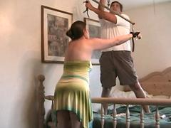 Daily punishment of submissive wife
