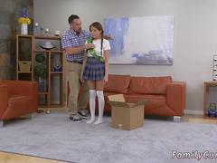 companions step daughter tickle and show daddy Forgetful Father Forgiveness