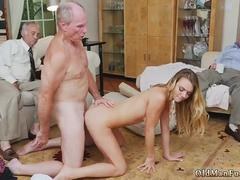 Old fat mature anal and man gangbang young creampie first time Molly Earns Her Keep
