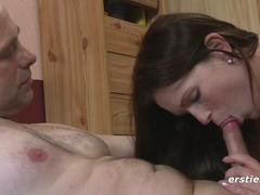 German babe Lullu Playing with her Pussy