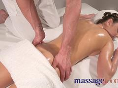 Massage Rooms Big orgasms for wild Russian nymphomaniac fucked senseless