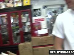Money Talks - Mali Terry - two nerds fuck in the comic shop - Reality Kings