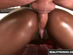 Chocolatey Goodness Milan Sterling wants some white cock - Reality Kings