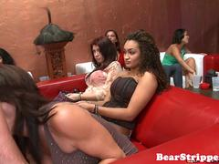 OMG my whore gf banged by stripper at party