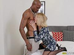 British housewife Molly Maracas goes interracial