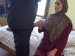 Big arab and muslim woman anal first time No Money No Problem
