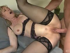 Cougar Nina Hartley is out on the prowl, and