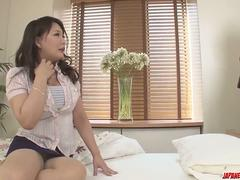 Hinata Komine is a wife on fire, needy for the young cock - More at Japanesemamas.com