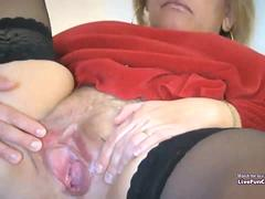 Awesome Mature  Fisting Orgasm