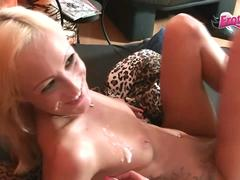 German young skinny amateur hooker get real home visit from client