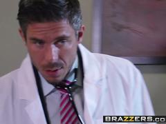 blonde Tasha Reign gets ass fuck by her doctor