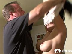 Husband fucks his wife like never before
