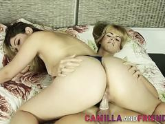 Latina shemale fucks cunt