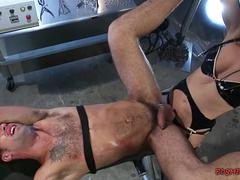 Mistress Pegs Her Slave