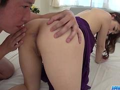 Anal toy stimulation for slutty Rei Furuse - More at javhd.net