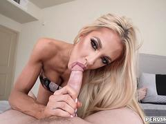 Courtney Taylor caught stepson sniffing her panties