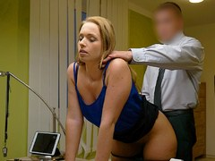 LOAN4K. Miss cant refuse offer of loan manager and gets fucked