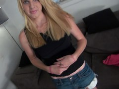 Skinny Blonde Teens First Scene