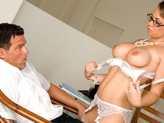 Stockings secretary holly west hard