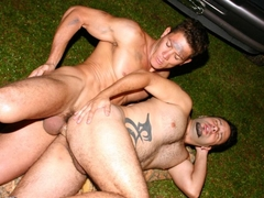 Muscled Gay Romantic Anal Fuck