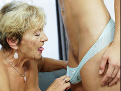 Granny and her much younger friends fresh vagina