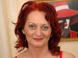 Redhead mature Any seduces her young lover