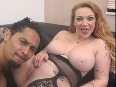 Huge titted Harmony Reigns needs a big black cock