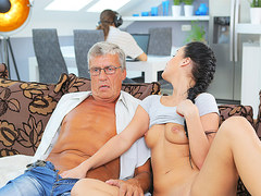 DADDY4K. Cock of mature dad satisfies girls need in good dicking